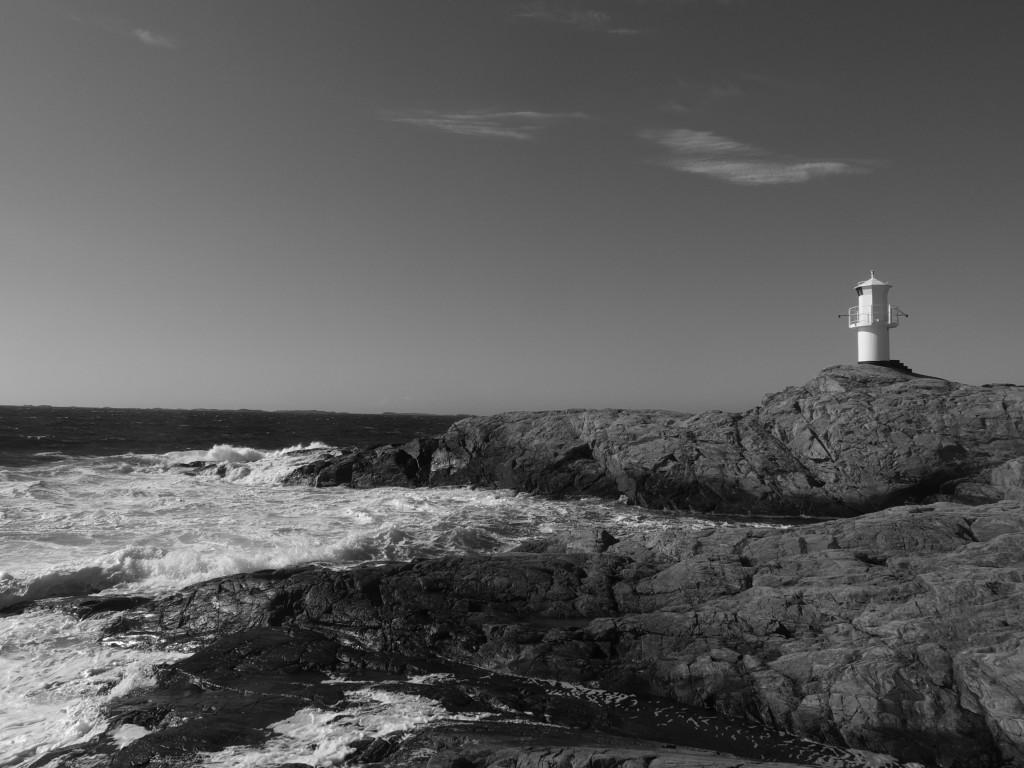 Marsstrand Lighthouse BW